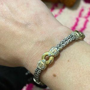 STUNNING sterling silver vintage bracelet